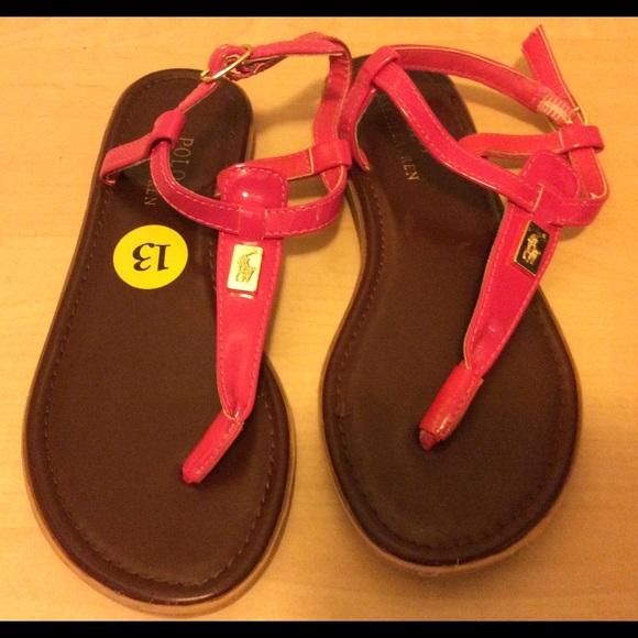 Polo Ralph Lauren Girls Sandals